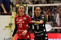 2016 DSC Volleyball 087 Gina Mancuso, Myrthe Schoot.jpg