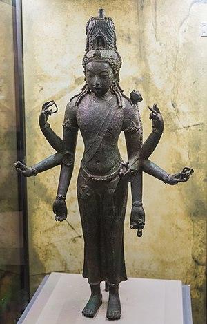 Buddhism in Southeast Asia - A 9th century Srivijayan art bronze Avalokiteshvara of Bidor in Perak, Malaysia.