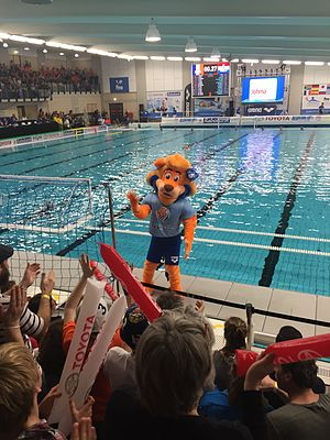 2016 Women's Water Polo Olympic Games Qualification Tournament - Swimba, the mascot of the event