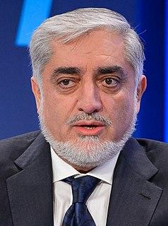 Abdullah Abdullah Afghan politician