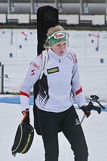 Lisa Hauser Austrian biathlete