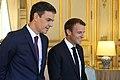 2018-06-23, Pedro Sánchez se reúne con Emmanuel Macron en El Elíseo.jpg