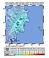 2018-11-14 Ust'-Kamchatsk Staryy, Russia M6 earthquake shakemap (USGS).jpg