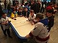 2018 IIHF World U18 Championship Division I - Fans playing table games (2).jpg
