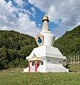 2018 Stupa w Gompie Drophan Ling w Darnkowie 04.jpg