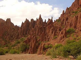 "Sud Chichas Province - On the way to ""Cañón del Inca"" near Tupiza"
