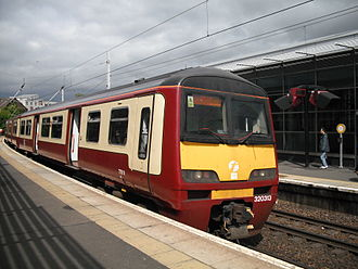 North Clyde Line - A Class 320 at Partick