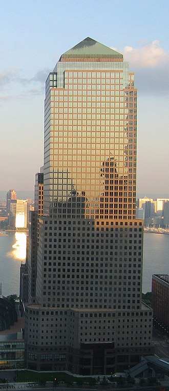 200 Vesey Street - The building in 2006