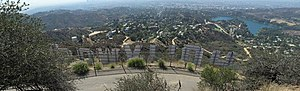 Beachwood Canyon, Los Angeles - Beachwood Canyon, below the Hollywood Sign