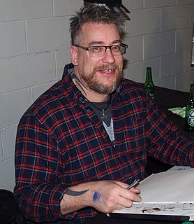 Simon Bisley Graphic novelist