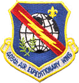 405th Air Expeditionary Wing - Emblem of the 405th Air Expeditionary Wing