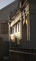 44 Queen Street, Exeter (3). Succumbed again - this is a slightly different take on 1029082, with the protruding porch catching the morning sun along Queen Street.