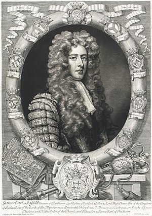 James Ogilvy, 4th Earl of Findlater - The Earl of Findlater in the robes of the Lord Chief Baron.