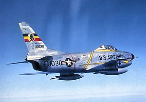 512th Fighter Squadron - 512th FIS F-86D Interceptor 52-10030