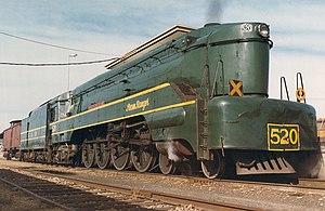 4-8-4 - South Australian Railways 520 class
