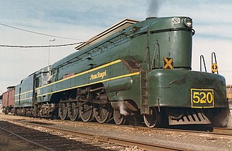 4-8-4 - South Australian Railways 520 class