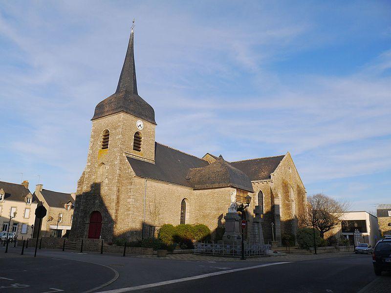 L'église Saint-Gaudens.