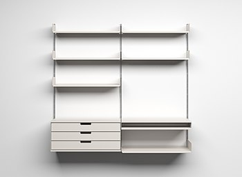 ??: 606 Universal Shelving System, 1960.
