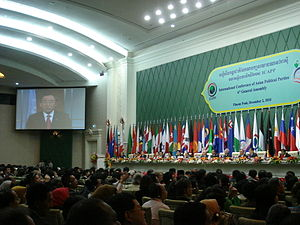 International Conference of Asian Political Parties - 6th GA of the ICAPP, held in Phnom Penh, Cambodia, December 1–4, 2010