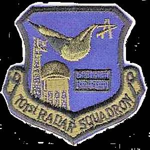 Fort Fisher Air Force Station - Emblem of the 701st Radar Squadron (Subdued emblem version)