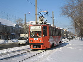 Image illustrative de l'article Tramway d'Omsk
