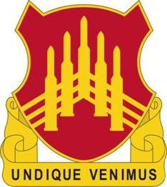 71st Air Defense Artillery Regiment - Image: 71ADARegt DUI