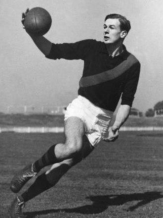John Coleman (Australian footballer) - Coleman during training