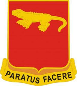 75th Field Artillery Regiment - Image: 75 FA Rgt DUI