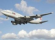 Japan Airlines Boeing 747-400