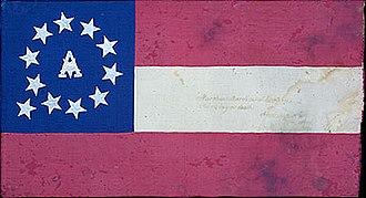 8th Arkansas Infantry Regiment - Flag of the 8th Arkansas Infantry Regiment