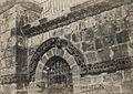 A. Salzmann - Saint Sépulcre, détails de la façade - Jerusalem.jpg