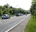 A472 approaches Lower Race and Upper Race junction, Pontypool - geograph.org.uk - 2427690.jpg