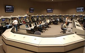 Boston Consolidated TRACON - The Operations Room of the Boston Consolidated TRACON.