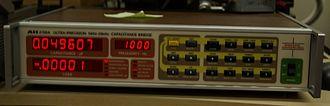 Capacitance meter - Image: AH2700 cap br