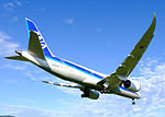 ANA Boeing 787-881 JA874A on Final Approaching at Taipei Songshan Airport 20151222b.jpg