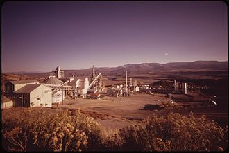 History of the oil shale industry - Anvils Point Research Center in 1970.