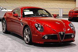 Alfa Romeo 8C Competizione - Image: AR8C Competizione