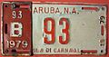 ARUBA 1979 -BUS LICENSE PLATE - Flickr - woody1778a.jpg