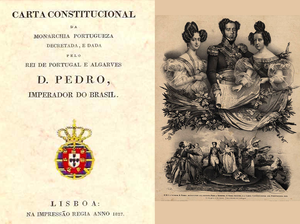 Maria II of Portugal - The Constitutional Charter of 1826 and the Royal Family.
