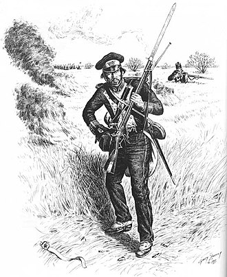 Battle of Palo Alto - A Mexican soldier at Palo Alto