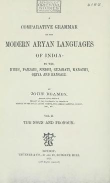 A Comparative Grammar of the Modern Aryan Languages of India Vol 2.djvu