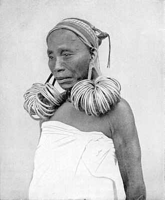 Garo people - A Garo woman, 1912
