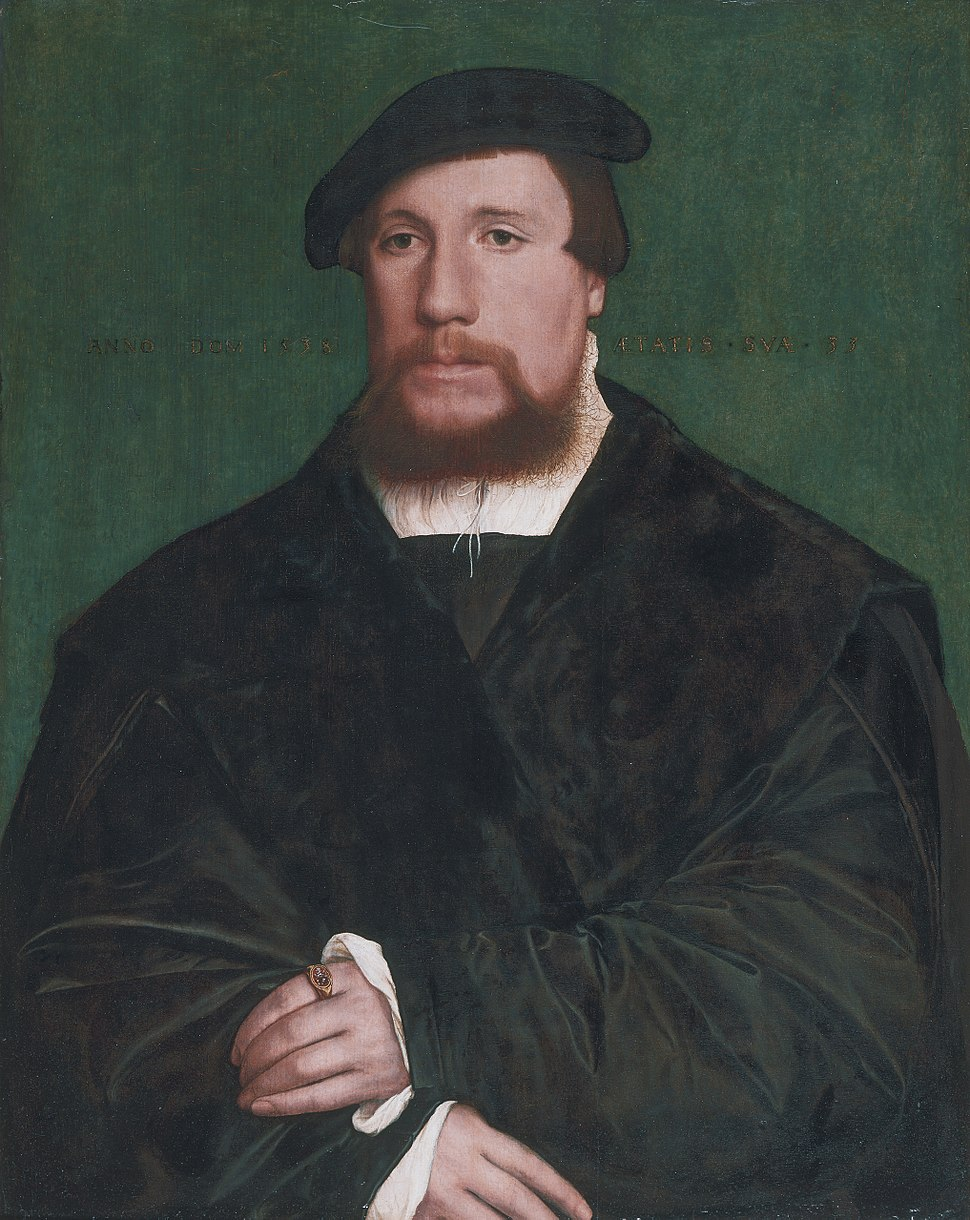 A Hanseatic merchant, by Hans Holbein the younger
