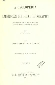 A cyclopedia of American medical biography vol. 2.djvu