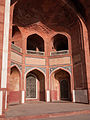 A exterior arch of Humayuns Tomb, Delhi.jpg