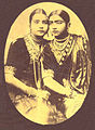 A photograph of two dancing girls, by K. L. Brajbasi & Co.jpg
