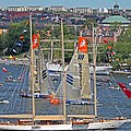 A tumultous Volco Ocean Race finish with leg race winner heading back out and overall leader coming in second - panoramio.jpg