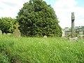 A verdant churchyard at Holy Trinity, Holdgate - geograph.org.uk - 1446763.jpg