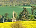 A view to Little Bedwyn church from near Chisbury - geograph.org.uk - 1265823.jpg