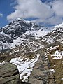 A walk up the Pyg track - a narrow path - geograph.org.uk - 772988.jpg